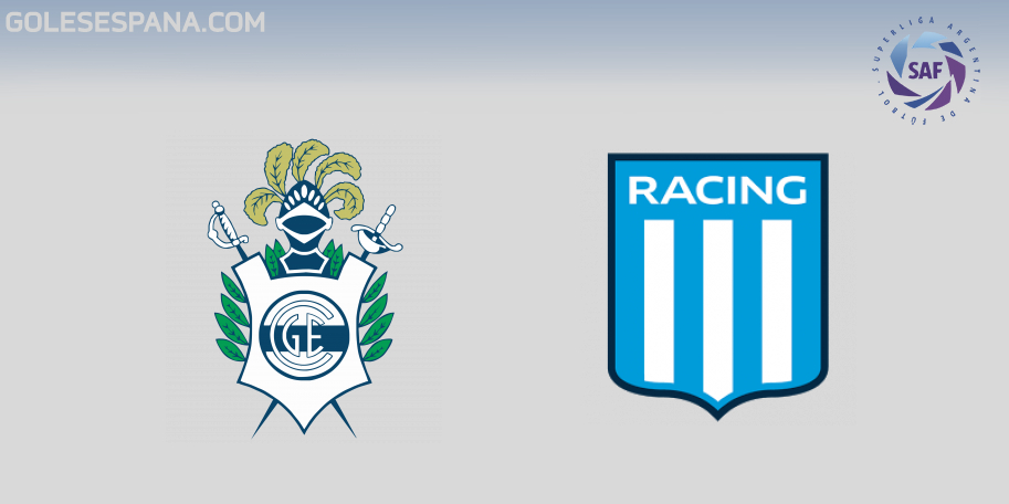 Gimnasia vs Racing en VIVO Online - Superliga 2018-2019 en directo Jornada 12