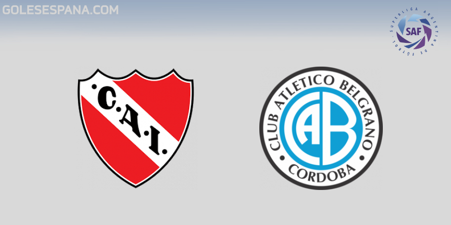 Independiente vs Belgrano en VIVO Online - Superliga 2018-2019 en directo Jornada 12