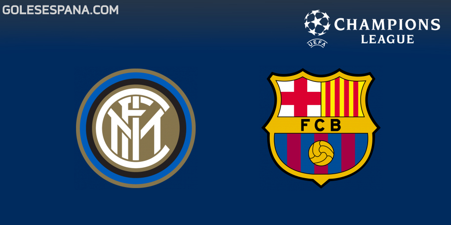 Inter vs Barcelona en VIVO Online - Champions League 2018-2019 en directo Grupo B