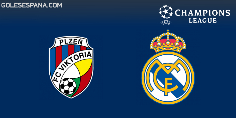Plzen vs Real Madrid en VIVO Online - Champions League 2018-2019 en directo Grupo G