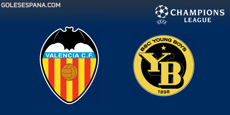 Valencia vs Young Boys en VIVO Online - Champions League 2018-2019 en directo Grupo H