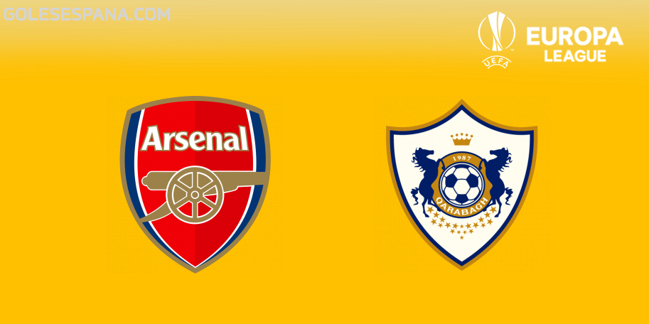 Arsenal vs Qarabag en VIVO Online - Europa League 2018-2019 en directo Grupo E