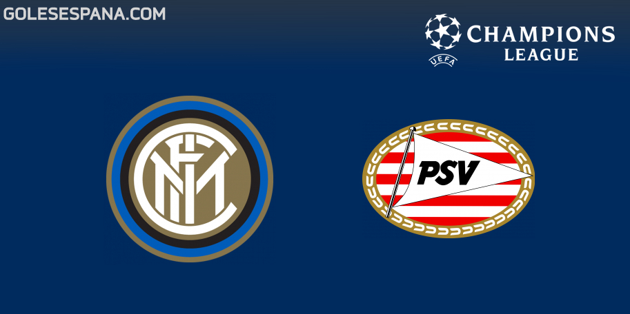 Inter vs PSV en VIVO Online - Champions League 2018-2019 en directo Grupo B