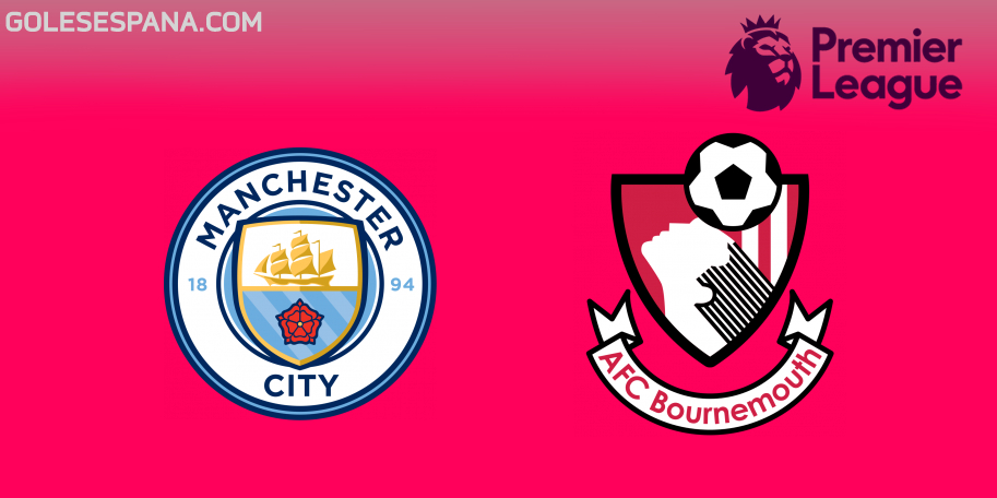 Manchester City vs Bournemouth en VIVO Online - Premier League 2018-2019 en directo Jornada 14