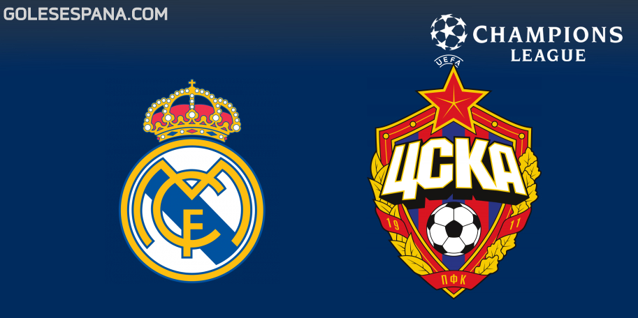 Real Madrid vs CSKA Moscú en VIVO Online - Champions League 2018-2019 en directo Grupo G