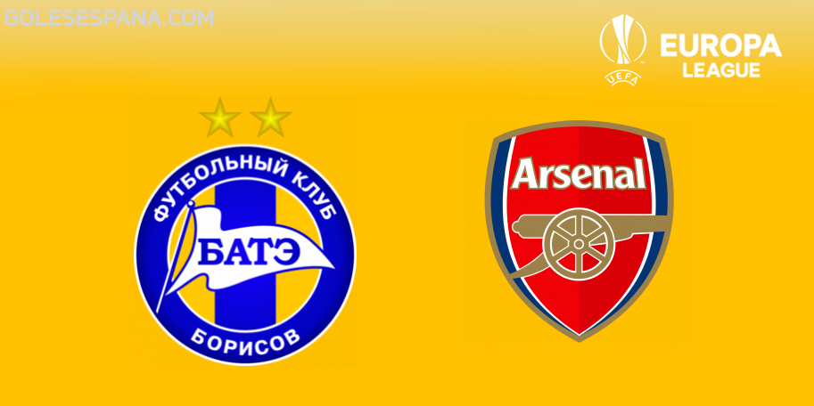 BATE vs Arsenal en VIVO Online - Europa League 2018-2019 en directo