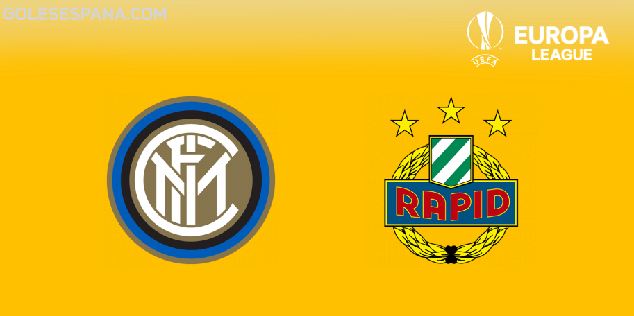 Inter vs Rapid Viena en VIVO Online - Europa League 2018-2019 en directo