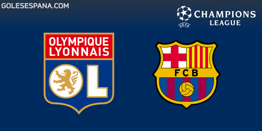 Lyon vs Barcelona en VIVO Online - Champions League 2018-2019 en directo Octavos de Final