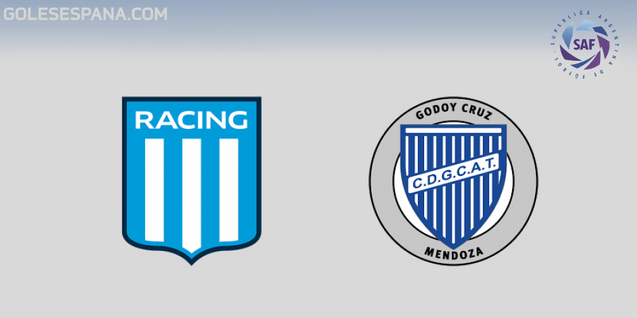 Racing vs Godoy Cruz en VIVO Online - Superliga 2018-2019 en directo Jornada 19