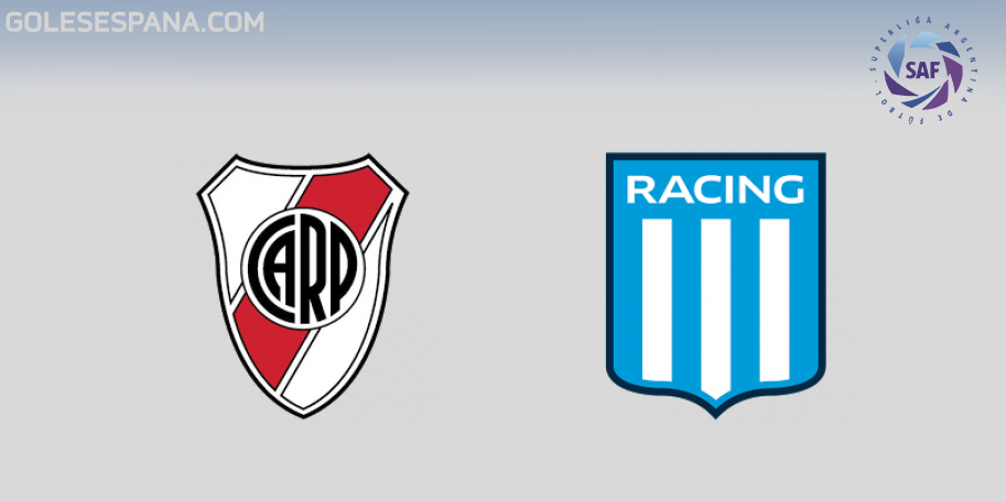 River vs Racing en VIVO Online - Superliga 2018-2019 en directo Jornada 18