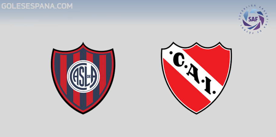 San Lorenzo vs Independiente en VIVO Online - Superliga 2018-2019 en directo Jornada 17