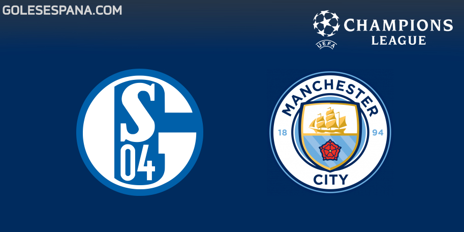 Schalke vs Manchester City en VIVO Online - Champions League 2018-2019 en directo Octavos de Final