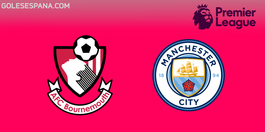 Bournemouth vs Manchester City en VIVO Online - Premier League 2018-2019 en directo Jornada 29