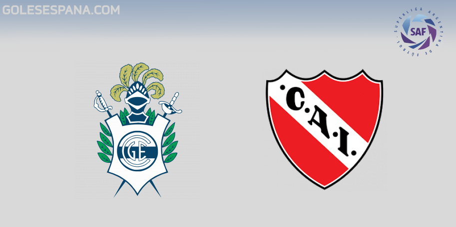 Gimnasia vs Independiente en VIVO Online - Superliga 2018-2019 en directo Jornada 21