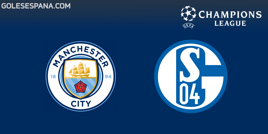 Manchester City vs Schalke en VIVO Online - Champions League 2018-2019 en directo Octavos de Final