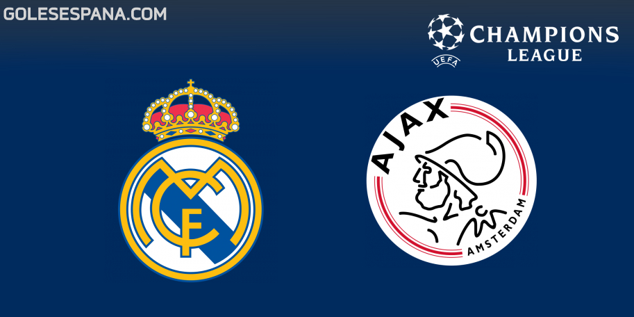 Real Madrid vs Ajax en VIVO Online - Champions League 2018-2019 en directo Octavos de Final