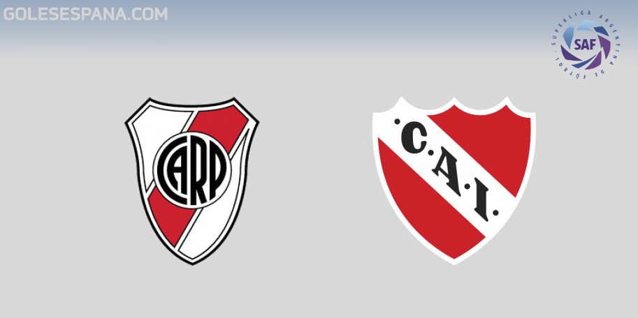 River vs Independiente en VIVO Online - Superliga 2018-2019 en directo Jornada 23