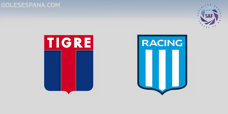 Tigre vs Racing en VIVO Online - Superliga 2018-2019 en directo Jornada 24