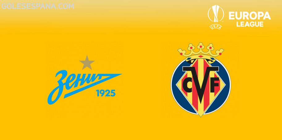 Zenit vs Villarreal en VIVO Online - Europa League 2018-2019 en directo Octavos de Final