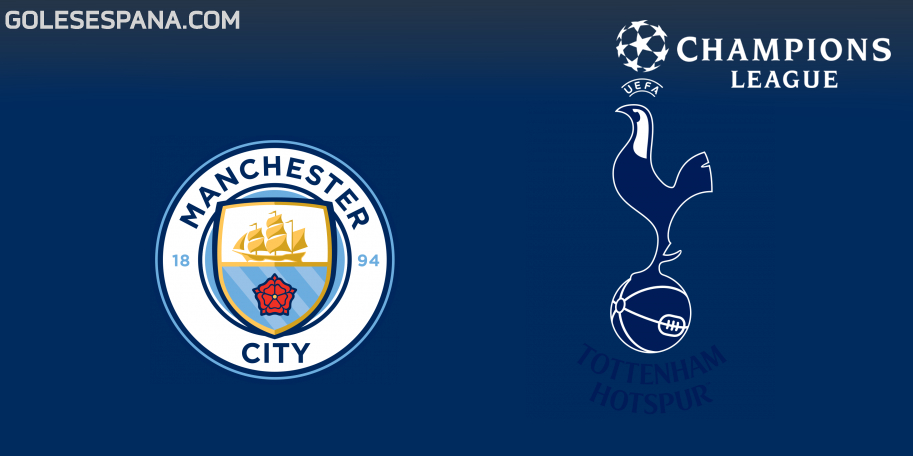 Manchester City vs Tottenham en VIVO Online - Champions League 2018-2019 en directo Cuartos de Final