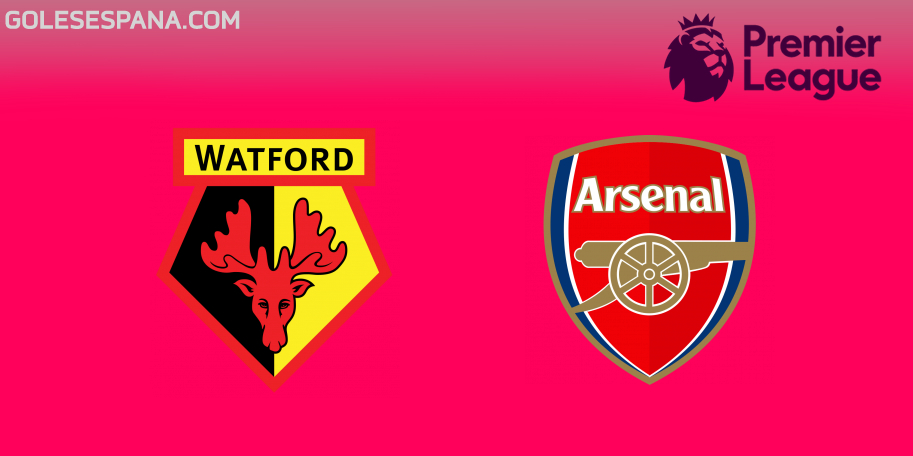 Watford vs Arsenal en VIVO Online - Premier League 2018-2019 en directo Jornada 34