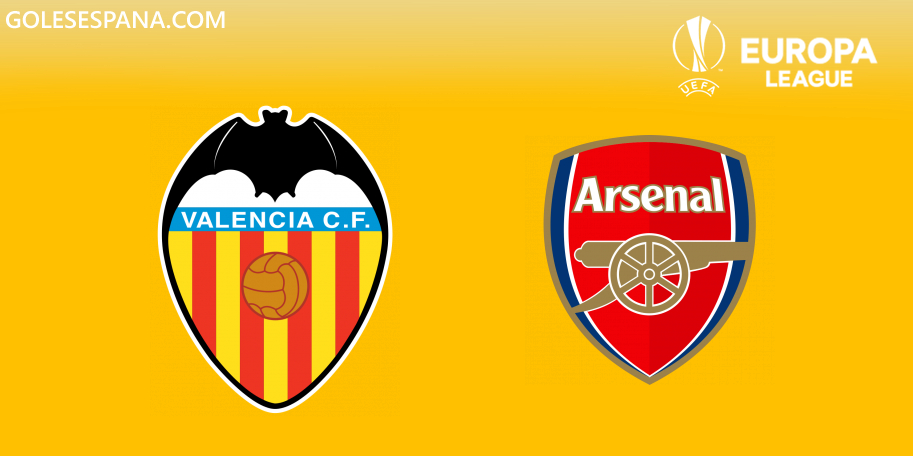 Valencia vs Arsenal en VIVO Online - Europa League 2018-2019 en directo Semifinal
