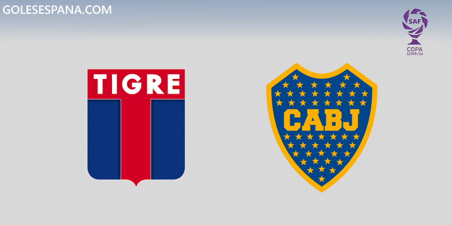 Tigre vs Boca en VIVO Online - Copa de la Superliga 2019 en directo Final