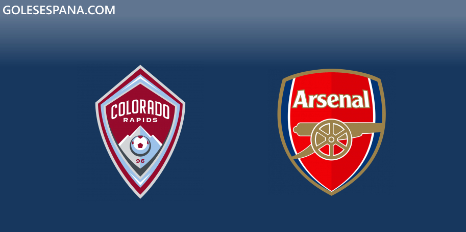 Colorado Rapids vs Arsenal en VIVO Online - Amistoso 2019 en directo