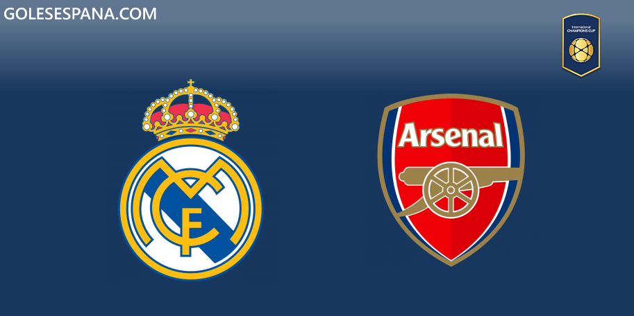 Real Madrid vs Arsenal en VIVO Online - International Champions Cup 2019 en directo