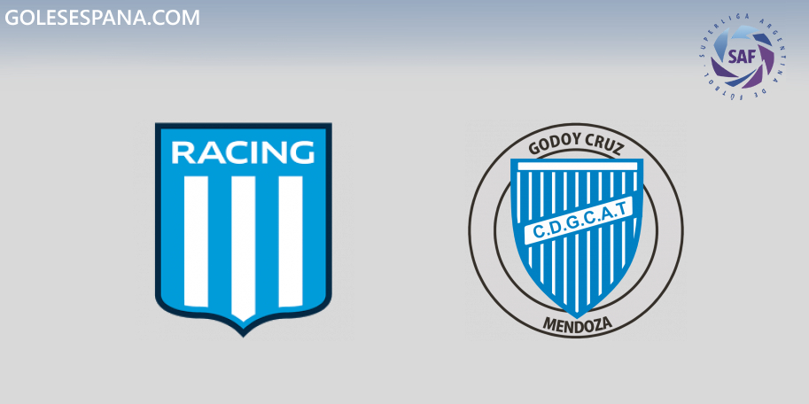 Racing vs Godoy Cruz en VIVO Online - Superliga 2019-2020 en directo Jornada 5