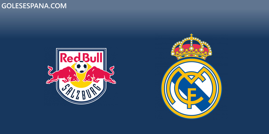 Salzburgo vs Real Madrid en VIVO Online - Amistoso 2019 en directo