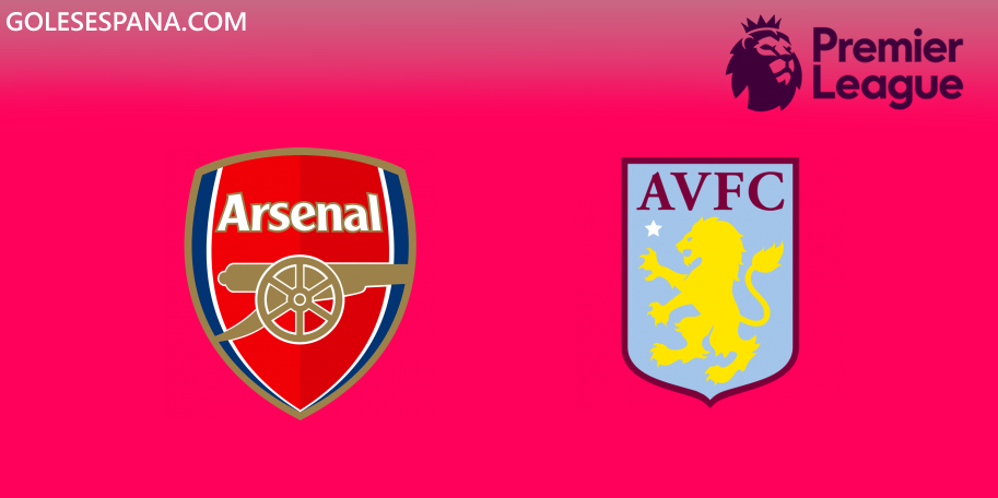 Arsenal vs Aston Villa en VIVO Online - Premier League 2019-2020 en directo Jornada 6