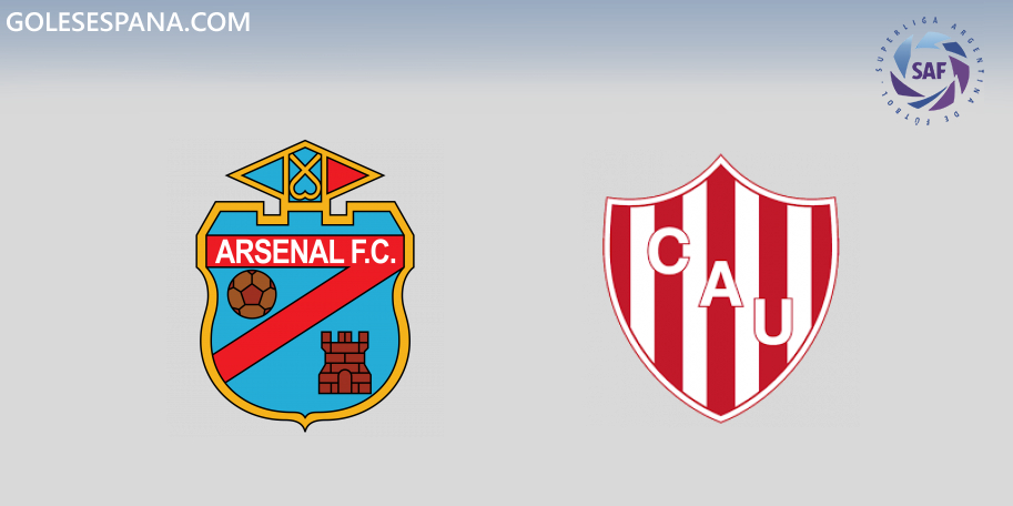 Arsenal vs Unión en VIVO Online - Superliga 2019-2020 en directo Jornada 6