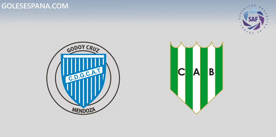 Godoy Cruz vs Banfield en VIVO Online - Superliga 2019-2020 en directo Jornada 7