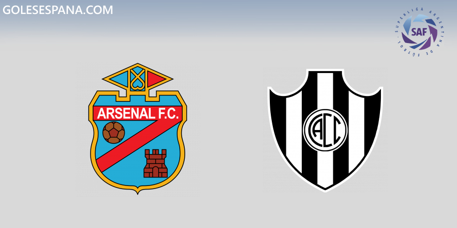 Arsenal vs Central Córdoba en VIVO Online - Superliga 2019-2020 en directo Jornada 11