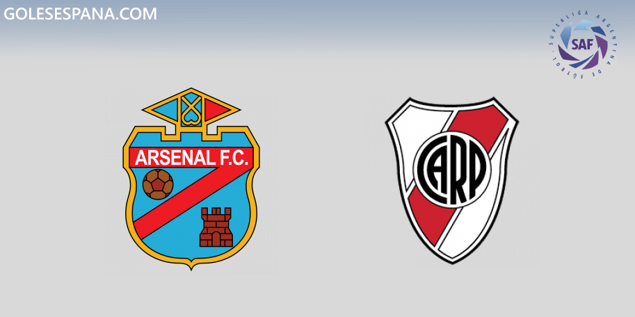 Arsenal vs River en VIVO Online - Superliga 2019-2020 en directo Jornada 10