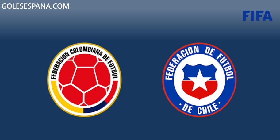 Colombia vs Chile en VIVO Online - Amistoso Internacional 2019 en directo