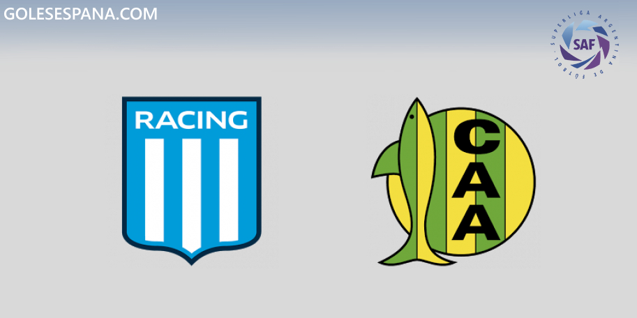 Racing vs Aldosivi en VIVO Online - Superliga 2019-2020 en directo Jornada 9