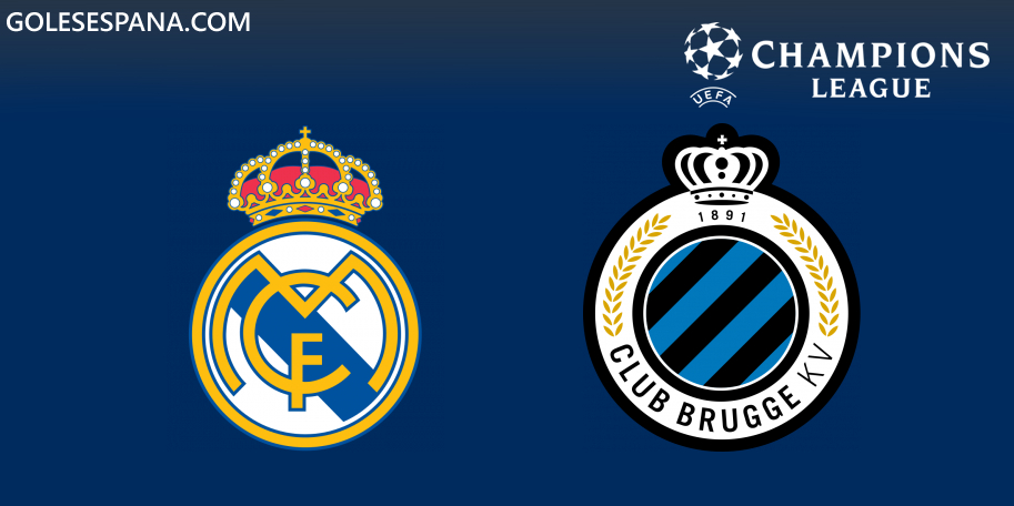 Real Madrid vs Club Brujas en VIVO Online - Champions League 2019-2020 en directo Grupo A
