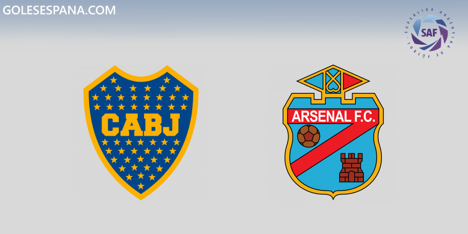 Boca vs Arsenal en VIVO Online - Superliga 2019-2020 en directo Jornada 12