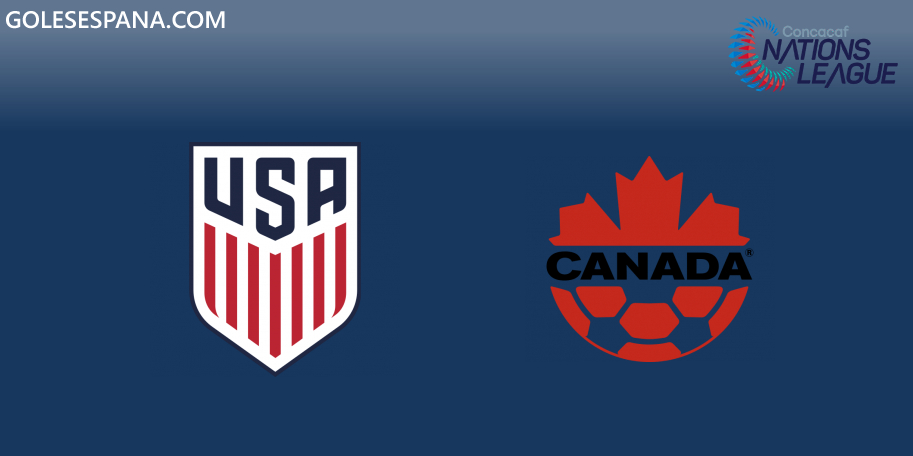 Estados Unidos vs Canadá en VIVO Online - CONCACAF Nations League 2019-2020 en directo Liga A Grupo A