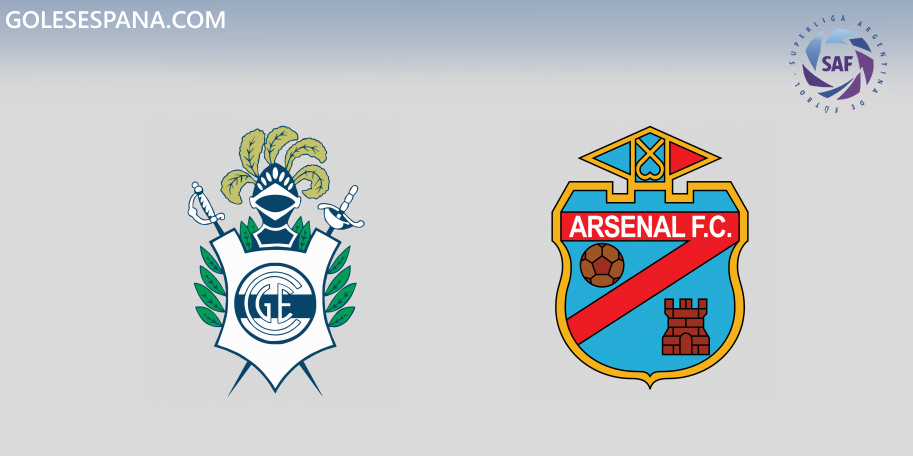 Gimnasia vs Arsenal en VIVO Online - Superliga 2019-2020 en directo Jornada 14