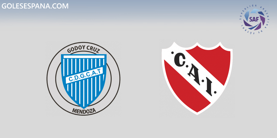 Godoy Cruz vs Independiente en VIVO Online - Superliga 2019-2020 en directo Jornada 13