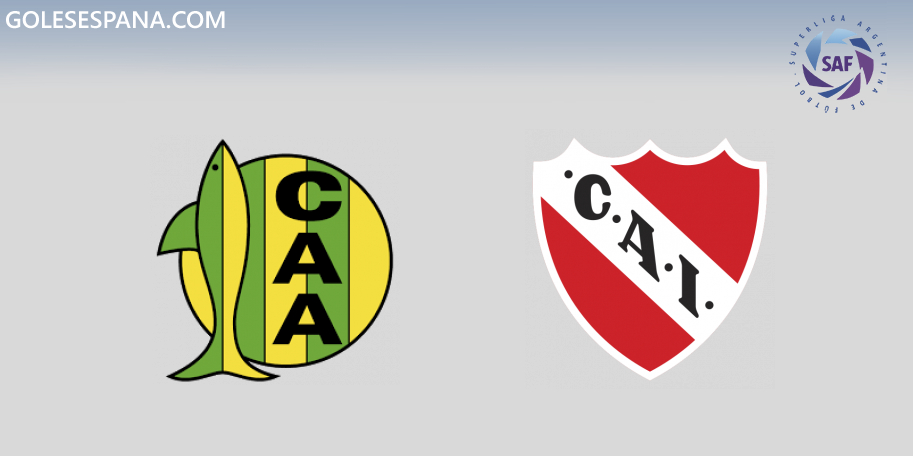 Aldosivi vs Independiente en VIVO Online - Superliga 2019-2020 en directo Jornada 15