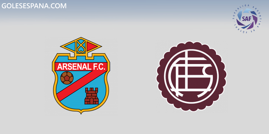 Arsenal vs Lanús en VIVO Online - Superliga 2019-2020 en directo Jornada 15