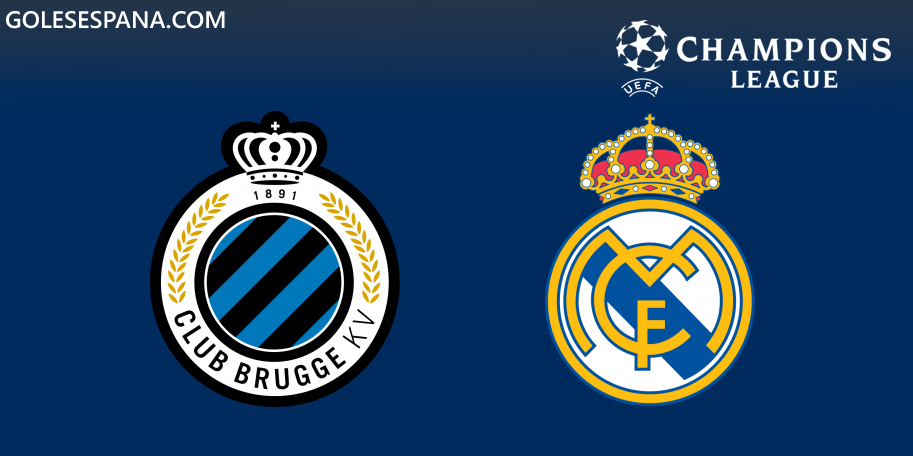 Club Brujas vs Real Madrid en VIVO Online - Champions League 2019-2020 en directo Grupo A