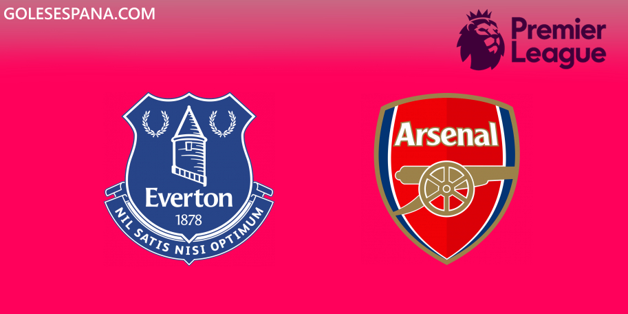 Everton vs Arsenal en VIVO Online - Premier League 2019-2020 en directo Jornada 18