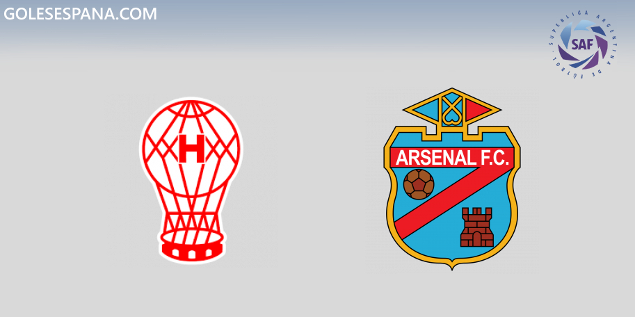 Huracán vs Arsenal en VIVO Online - Superliga 2019-2020 en directo Jornada 16