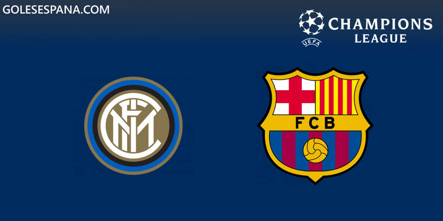 Inter vs Barcelona en VIVO Online - Champions League 2019-2020 en directo Grupo F