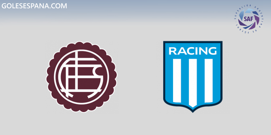 Lanús vs Racing en VIVO Online - Superliga 2019-2020 en directo Jornada 16